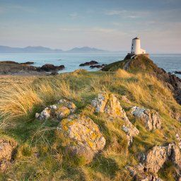Twr Mawr Lighthouse, Llanddwyn Island, Wales one evening in May 2013