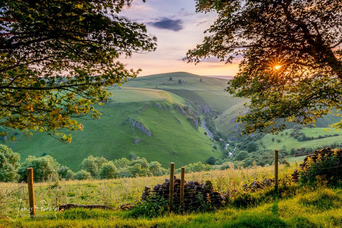 White Peak District Landscape Photography