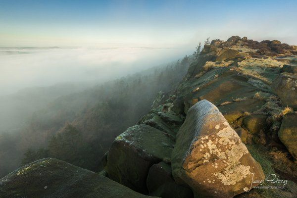 Morning Cloud Inversion - The Roaches