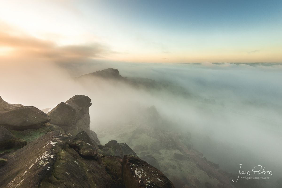Peak District Cloud Inversion at The Roaches