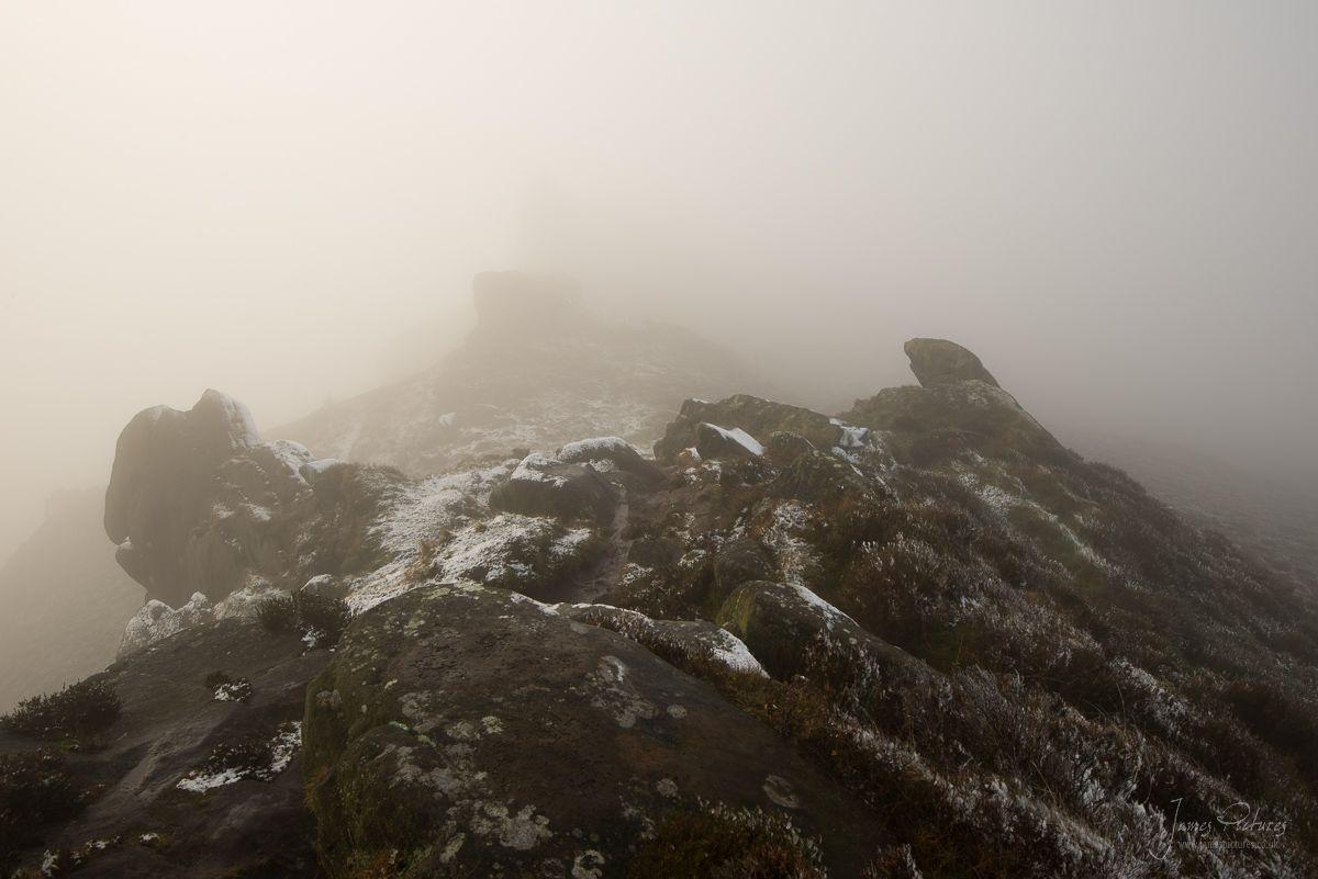 Ramshaw Rocks Low Cloud