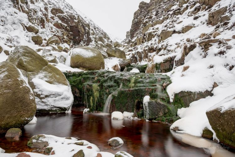 Grindsbrook Clough Waterfall