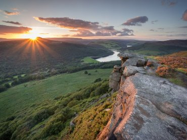 Sunset At Bamford Edge