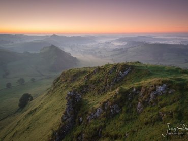 Chrome Hill At Dawn