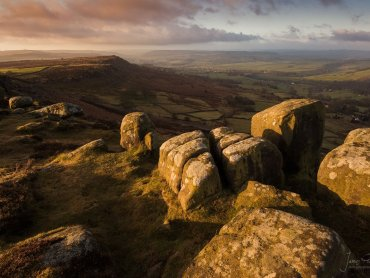 Curbar Edge Derbyshire