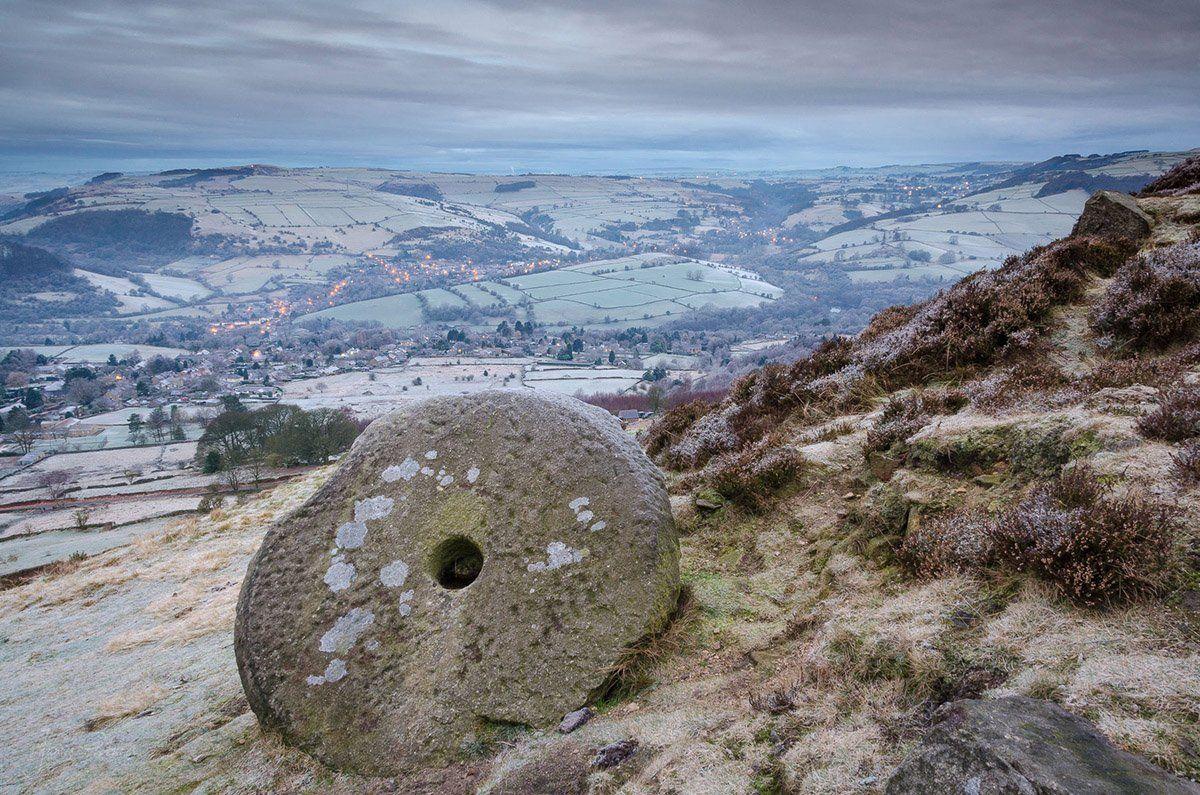 Curbar Edge Millstone