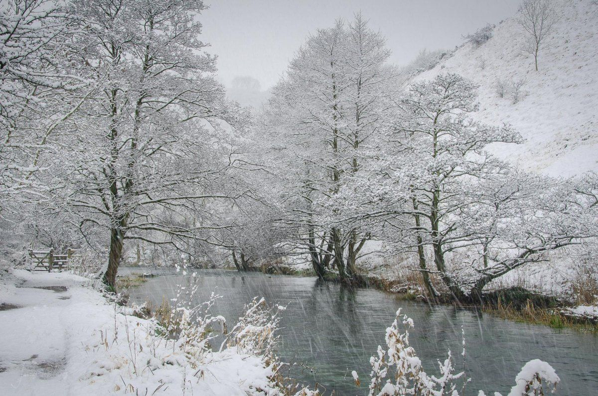 Dovedale In The Snow