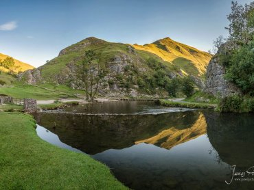 Lovely Reflections From Thorpe Cloud
