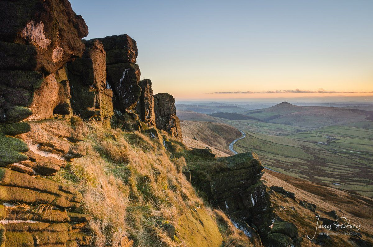 The Gritstone on Shining Tor