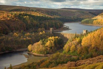 Howden Reservoir Upper Derwent Valley