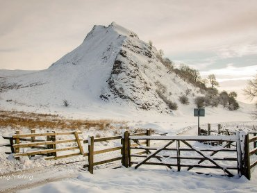 A Snow Covered Parkhouse Hill
