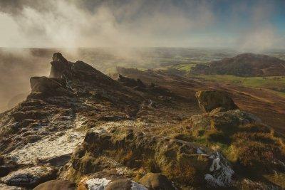 Ramshaw Rocks In The Peak District