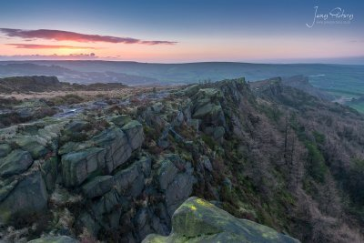 The Roaches At Sunrise