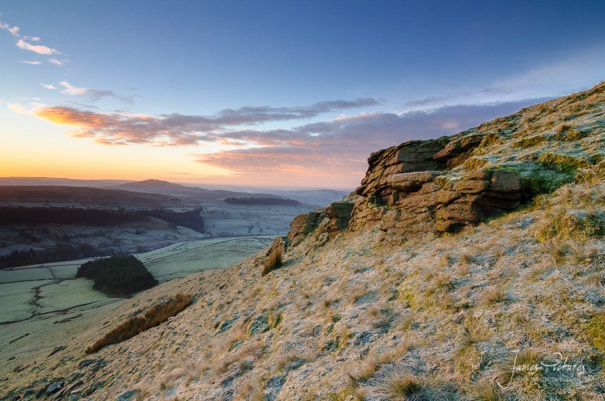Shutlingsloe At Dawn