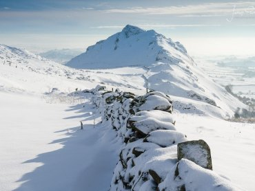 A Snow Covered Chrome Hill