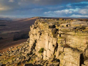 Stanage Edge In Derbyshire