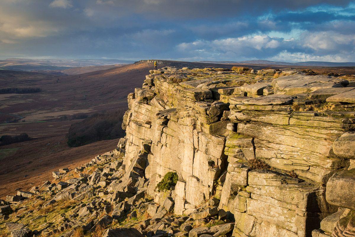 Stanage Edge In Derbyshire