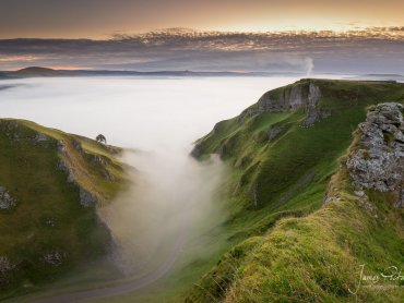 Winnats Pass Cloud Inversion