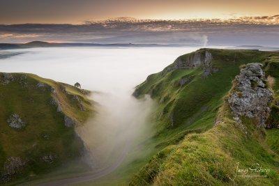 Winnats Pass Cloud Inversion