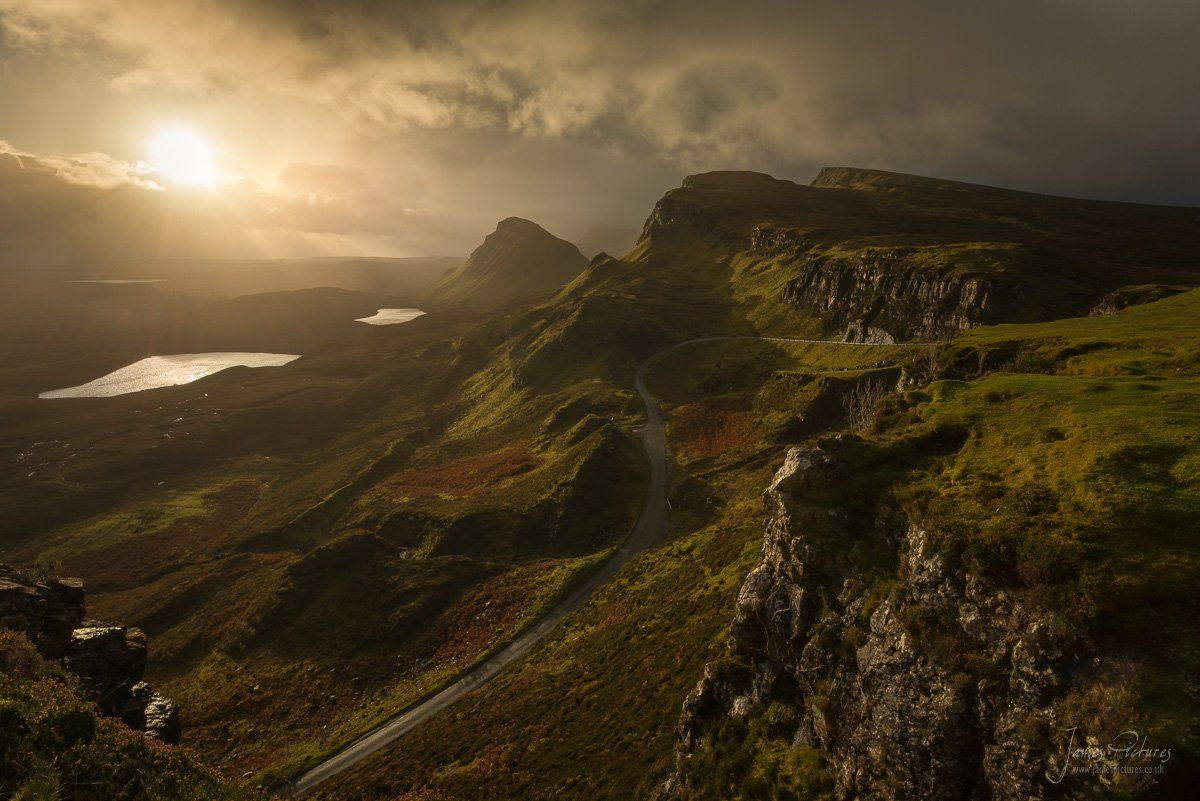 Quiraing Sunrise Isle of Syke Scotland Landscape Photography