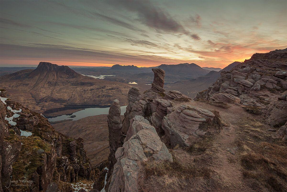 Scotland Landscape - Sgorr Tuath