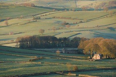 Near Alstonefield in Staffordshire