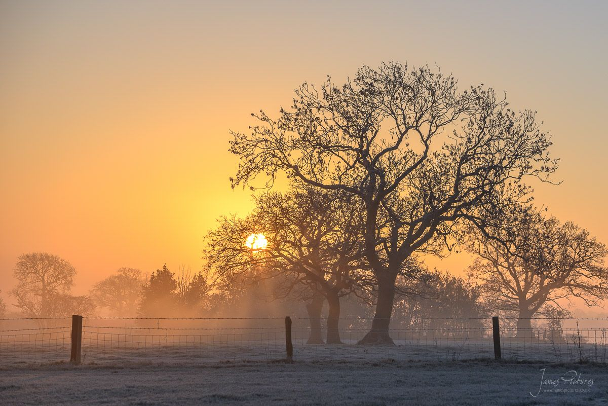 Staffordshire Sunrise - James Pictures