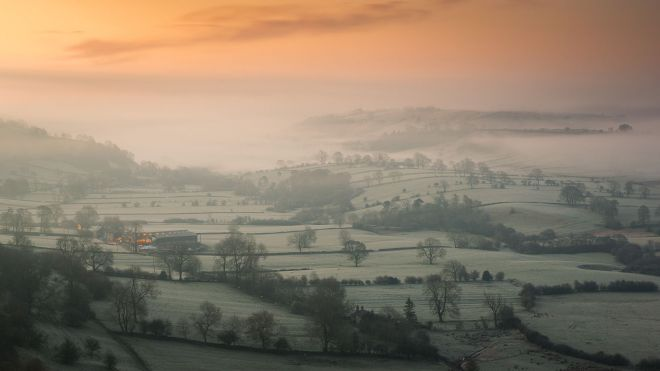 The Dove Valley Derbyshire