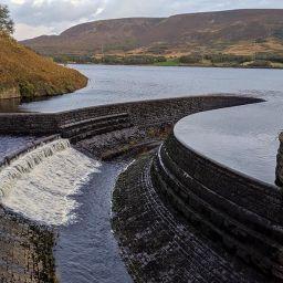 Torside reservoir overflow