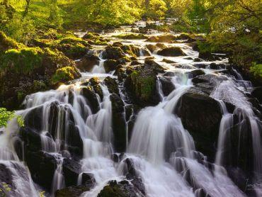 Swallow Falls near Betws-y-Coed north Wales