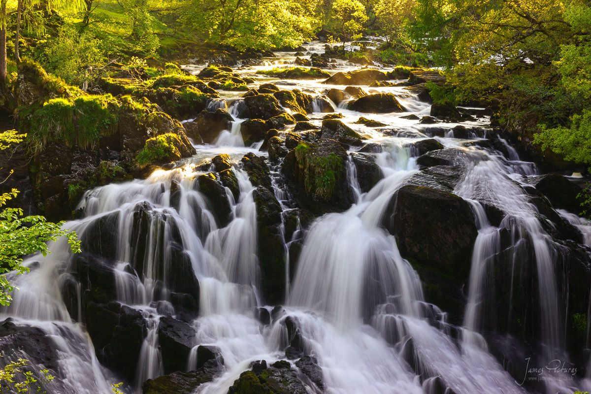 Swallow Falls near Betws-y-Coed north Wales