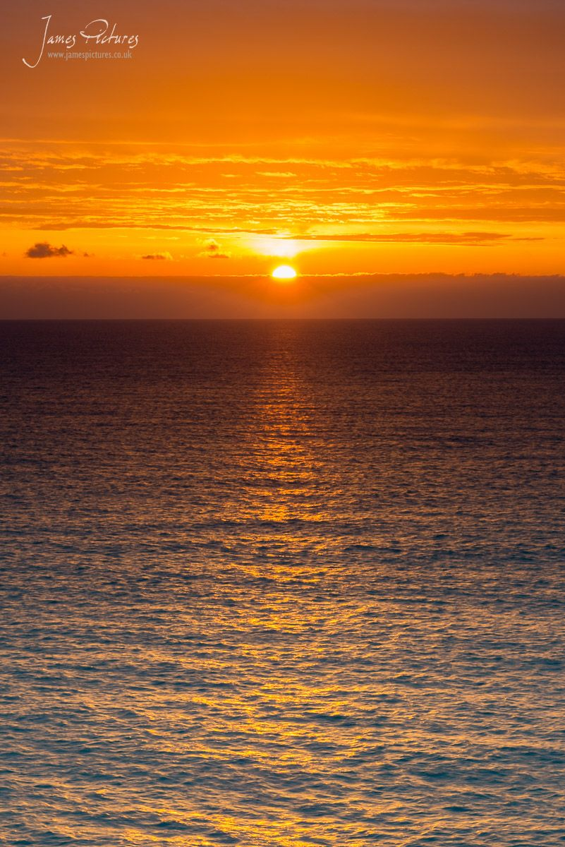 Taken on Llanddwyn Island, once the light faded some what I couldnt resist this shot of the sun going over the horizon. Stunning to witness!