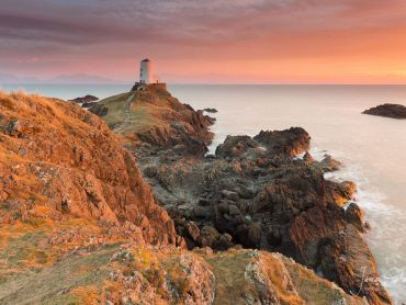 The stunning Twr Mawr Lighthouse in Anglesey, North Wales