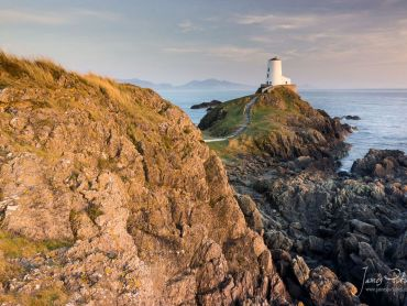 I couldnt ask for better side light at Tyr Mawr Lighthouse, Llanddwyn Island, Wales