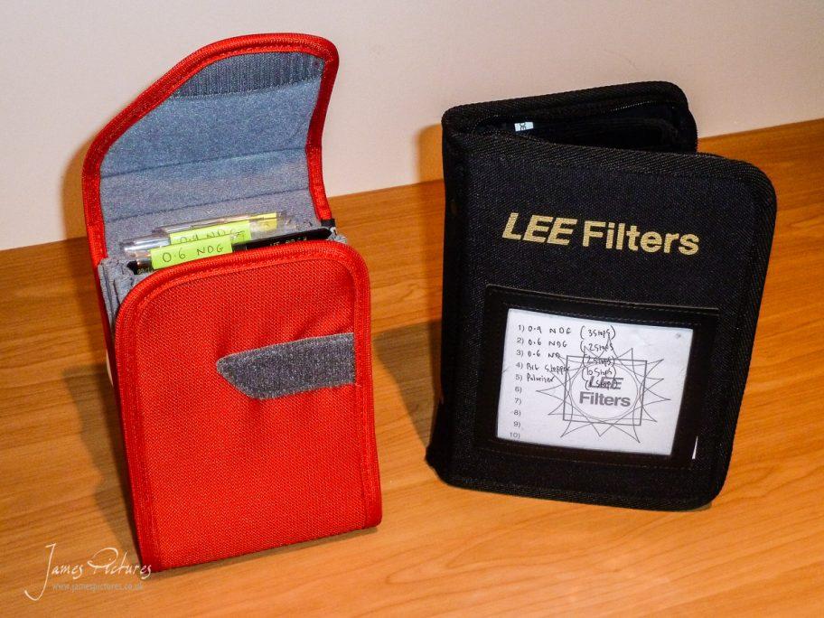 The Lee Filter Holder Vs CliK Elite Filter Holder vertical side by side