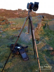 My Benro Tripod and D7000 with Lee Filter System